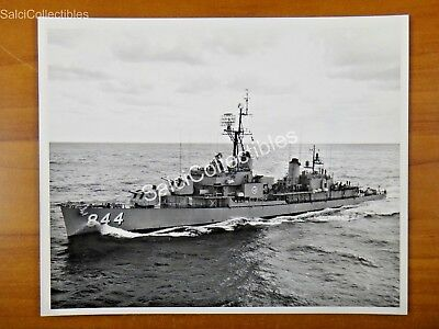 USS Perry DD-844 Destroyer Ship OFFICIAL Navy Photograph 8x10