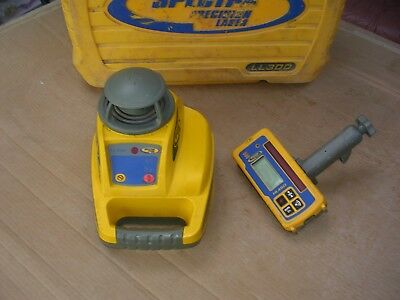 Laser Level SPECTRA Precision LL300 with detector