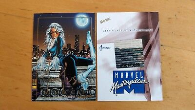Rare 2016 Marvel Masterpieces Black Cat 1992 MM Buyback Jusko Autograph 7 Of 15