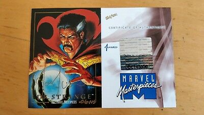 Rare 2016 Marvel Masterpieces Dr Strange 1992 MM Buyback Jusko Autograph 6 Of 15