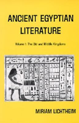 Ancient Egyptian Literature Vol. 1 : The Old and the Middle Kingdoms  (ExLib)