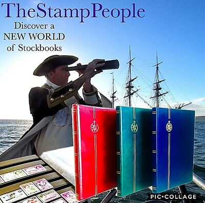 **NEW **⭐️ Stamp Stockbook Albums ⭐️( A4 Stockbooks for Stamp Collecting )