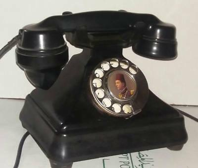 antique vintage BAKELITE telephone PYRAMID King Farouk made in england 1930