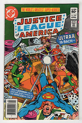 Justice League of America #201 (Apr 1982, DC) [Newsstand] Gerry Conway Don Heck