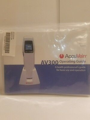 Accuvein AV300 Operating Guide with CD**NEW**