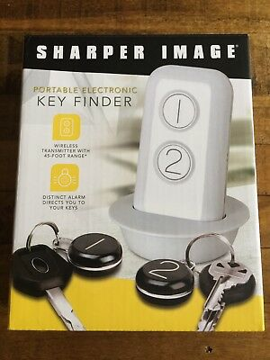 Sharper Image Portable Electronic Key Finder Brand New 999
