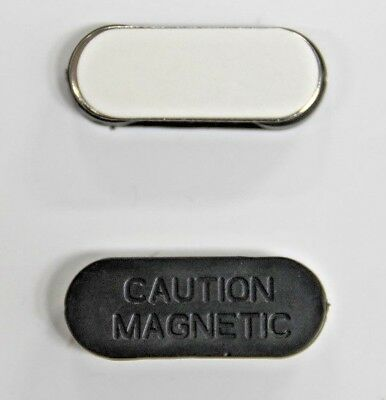 x1 MAGNETIC NAME BADGE TAG ATTACHMENT - SELF ADHESIVE MAGNET - SUPER STRONG S03