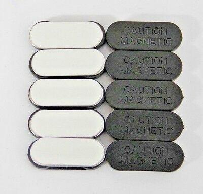 x10 Magnetic Name Badge Tag Attachment - Self Adhesive Magnet - Super Strong S03
