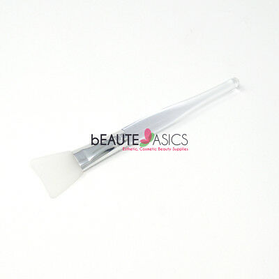 Curved Silicone Facial Mask Brush Applicator - #SB021x1