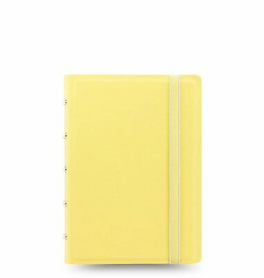 Filofax Notebook Pocket Classic Pastels Lemon Notizbuch A7 Kunstleder 115062