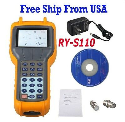 USA Free Ship RY-S110 CATV Cable TV Handle Digital Signal Level Meter DB Tester