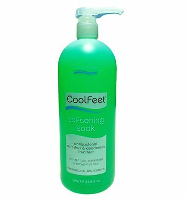 Cool Feet Softening Soak  1 litre by Natural Look - Pickup available