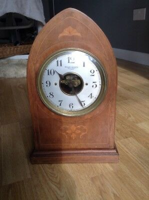 Antique Rare Large Pendule Bulle .nice Condition Clock Priced To Sell .read Note