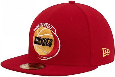 brand new d97a5 3b86f New Era - NBA Houston Rockets Team HWC 59Fifty Cap - Rot