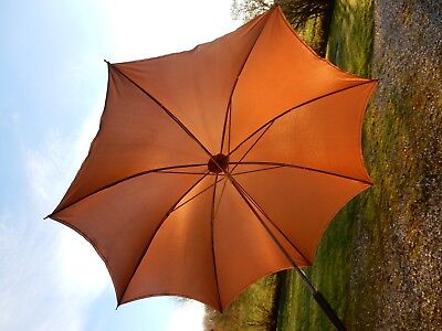 Elegant French 1950S 1960S  Era Parasol Umbrella  Suit Goodwood Revival Etc  B