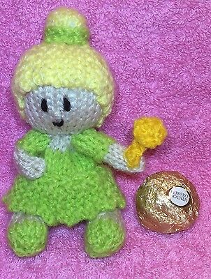 Knitting Pattern Tinkerbell Inspired Chocolate Cover Fits Ferrero