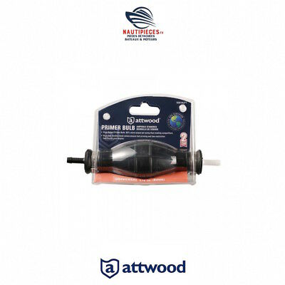 8A 93014I7 Poire Amorcage Essence 1/4 6Mm Attwood Marine