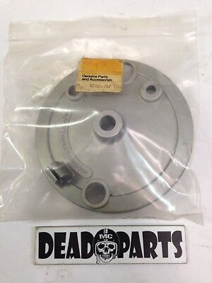 Harley nos 43054-74p aermacchi drum brake backing plate