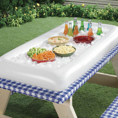 Inflatable Serving Bar Salad Buffet Picnic Drink Table Cooler Party Ice Outdoor