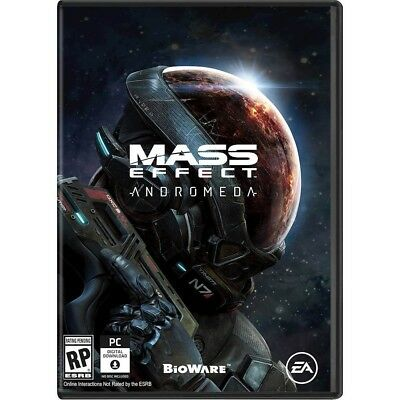 Videogames Mass Effect Andromeda Ps4 Dvd Ufficiale Italia Playstation 4