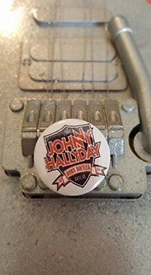 Badge 25 mm Johnny Hallyday Born Rocker Tour