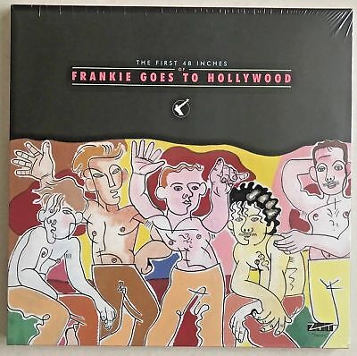 """FRANKIE GOES TO HOLLYWOOD, FIRST 48 INCHES, 4x 12"""" vinyl singles set RSD 2018"""
