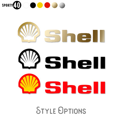 SHELL - Vinyl Sticker / Decal - Motorbike Heritage Racing Classic