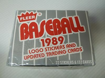 Fleer Baseball Logo Stickers Trading Cards