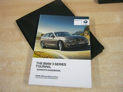 bmw 3 series touring 2014 2017 handbook pack owners manual our ref rh picclick co uk BMW 3 Series Engine Diagram 2010 BMW M3 Coupe
