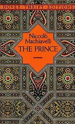 The Prince (Dover Thrift Editions)  (ExLib) by Niccolò Machiavelli