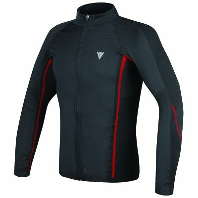 Dainese D-Core No Wind Thermo Long Base Layer Shirt Black/Red