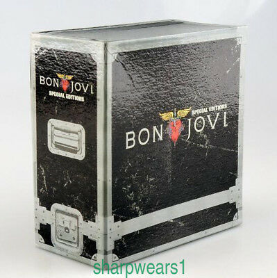 BON JOVI SPECIAL EDITIONS 11CD BOX SET Top Quality+FREE SHIPPING+GIFT HOT SEALED