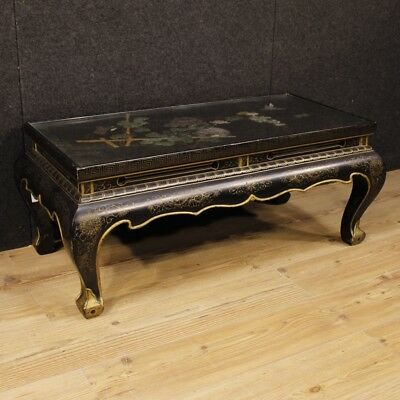 Coffee table chinoiserie French lacquered furniture living room antique style