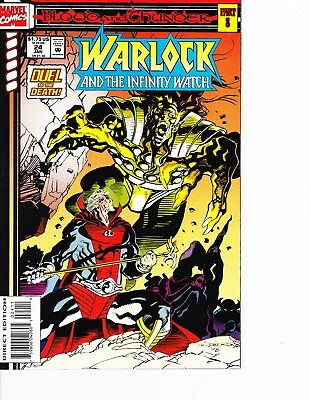Warlock and the Infinity Watch #24 Blood and Thunder FREE SHIPPING in USA @ $30