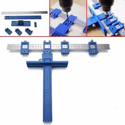 Cabinet Hardware Jig for Professional Installation of Handles and Knobs