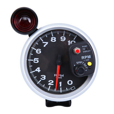 "4.7"" Universal DC 12V Tachometer Shift Light  & Oil Pressure Gauge 0-10K RPM"