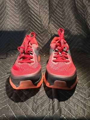pretty nice 4fde6 a72df Nike Air Max 2014 Size 10.5 Gym Red Reflect Silver-Hyper Punch 621077-