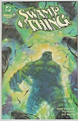 Swamp Thing  Annual~~ 3 & 4 & 1991~~ all three in NM- **Strick Grade**