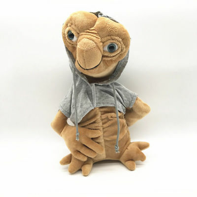 28cm E.T. the Extra-Terrestrial New in Grey Coat Soft Plush Doll Figure Toy Gift