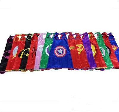 Cape for Kid birthday Superhero Cape(1 Cape&1 Mask) ideas and favors party Kids