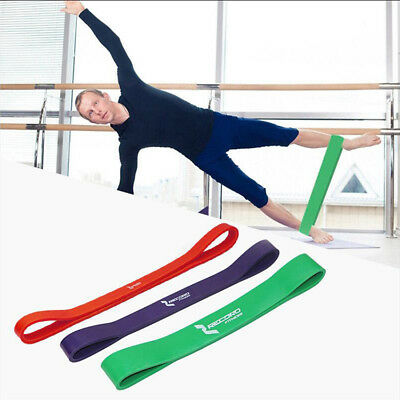 HEAVY DUTY Rubber Resistance Band Power Fitness Exercise Training Yoga Workout