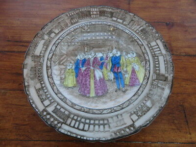 Royal Doulton Queen Elizabeth at Old Moreton - 26cm Collector Display Plate