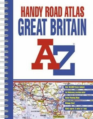 A-Z Great Britain: Handy Road Atlas by Geographers' A-Z Map Company Spiral bound