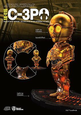 Beast Kingdom Egg Attack Statue Ea-016 Star Wars Episode V C-3Po Action Figure