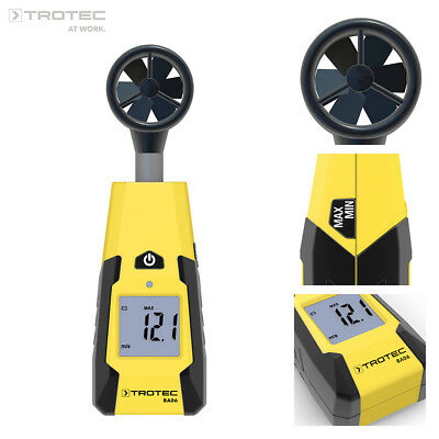 TROTEC BA06 Impeller Anemometer Wind Speed