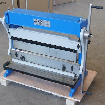 3-In-1 Manual Sheet Metal Shear Brake Roller Bending Machine [Size:610mm]