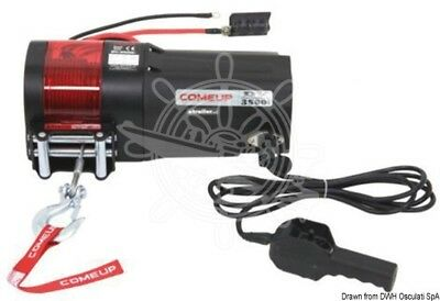 Osculati Electric winch 2400 Kg 1200 W 12 V
