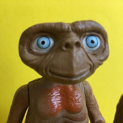 Retro E.T Extra Terrestrial Talking Poseable Action Figure Geoffrey Inc. 2001