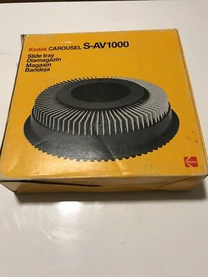 Kodak Carousel Slide Tray/Cartridge - S-AV1000 - In Original Box