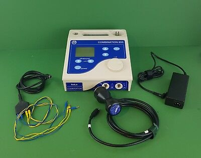 Ultrasound Therapy EMS Physio 855 Solo Combination+Ultrasound Probe Therapy Unit